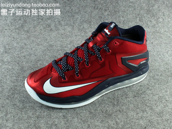 Nike LeBron 11 Low 'USA' - Detailed ...