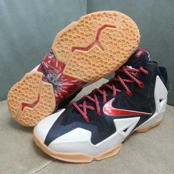 Nike LeBron 11 'USA' – First Look 1