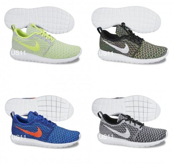 Nike Roshe Run Flyknit (OG & NM) - First Look 12