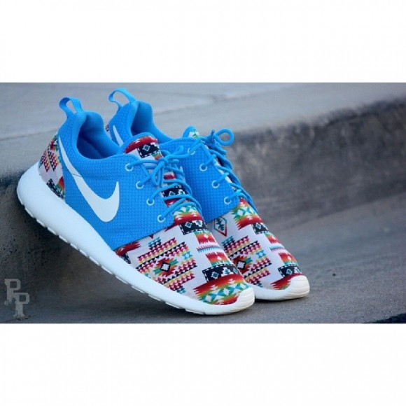Nike Roshe Run Native Rug Customs By Profoundproduct
