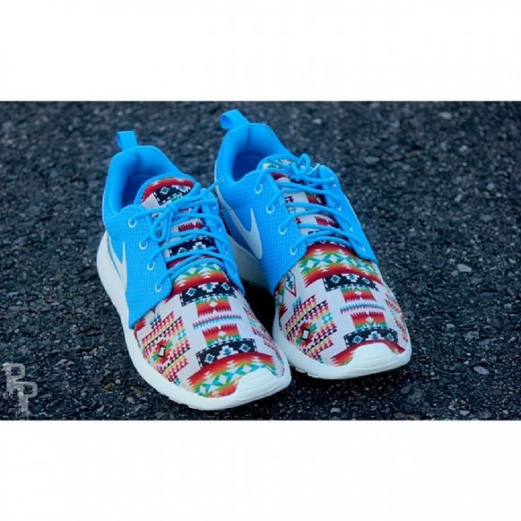 ... Nike Roshe Run 'Native Rug' Customs by ProfoundProduct 3