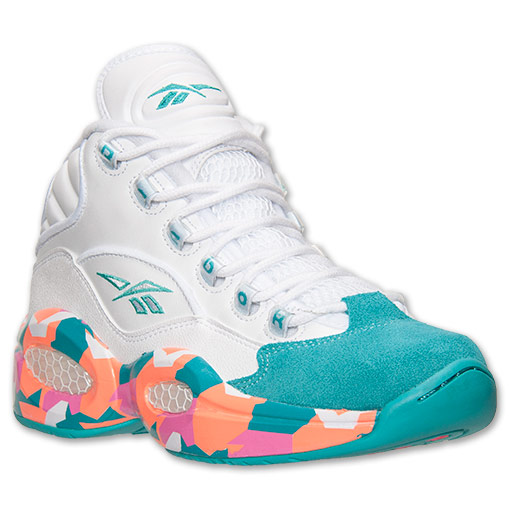Reebok Question Mid 'White Noise' - Available Now 1
