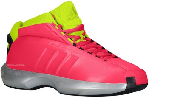adidas Crazy 1 Vivid Berry: Slime-Black - Quick Look + Release Info
