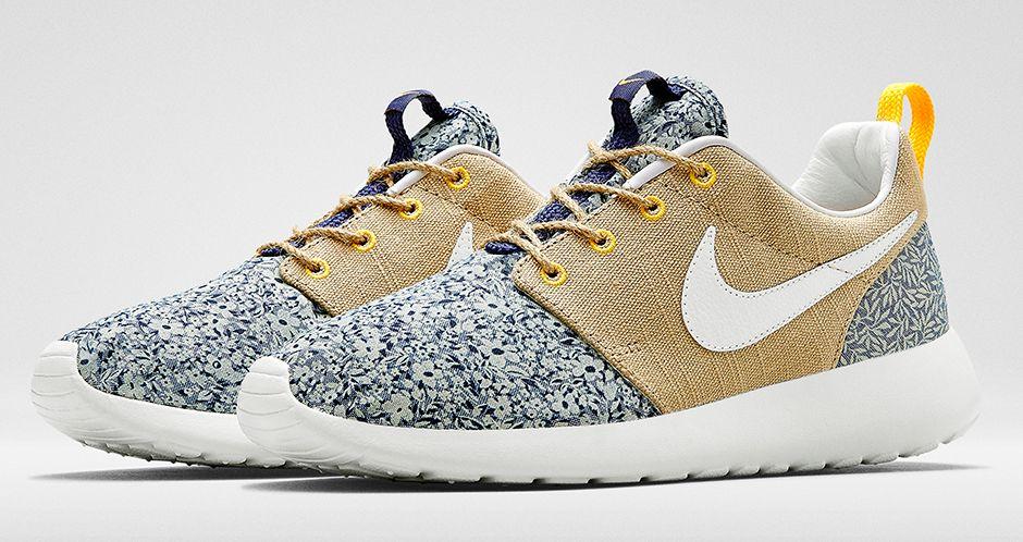 Available Tomorrow: Liberty of London x Nike Roshe One