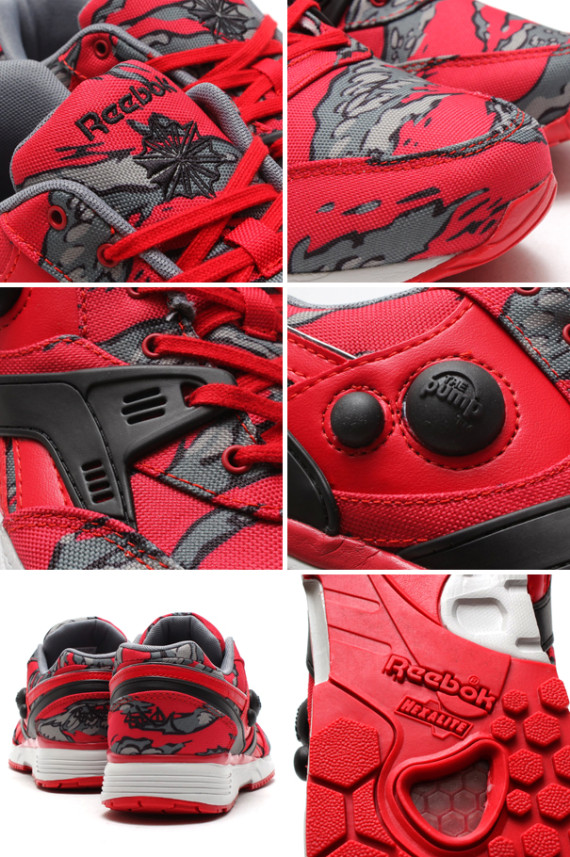 Stash x Reebok Pump 25th Anniversary Red Collection - WearTesters 95b6a37fc