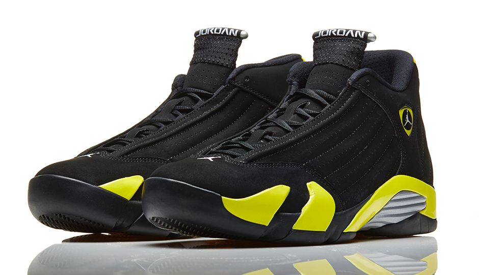online store 7a8d3 0a730 Air Jordan 14 Retro 'Thunder' - Official Look - WearTesters