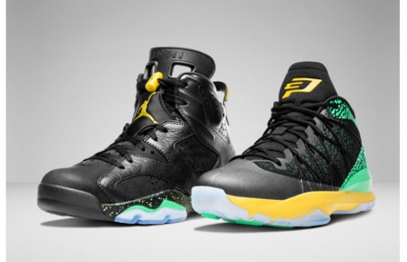 Air Jordan 'Brazil Pack' - Official Look 1