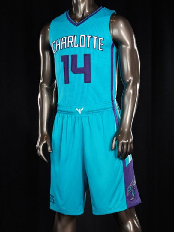 Charlotte Hornets Unveil New Uniforms Weartesters