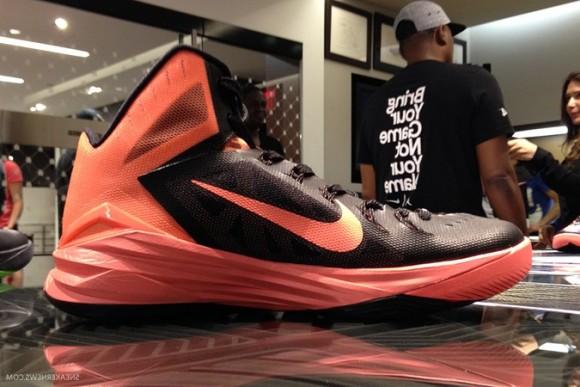 Originals Nike Hyperdunk 2014 Pink Fire Metallic Silver Hyper Pi