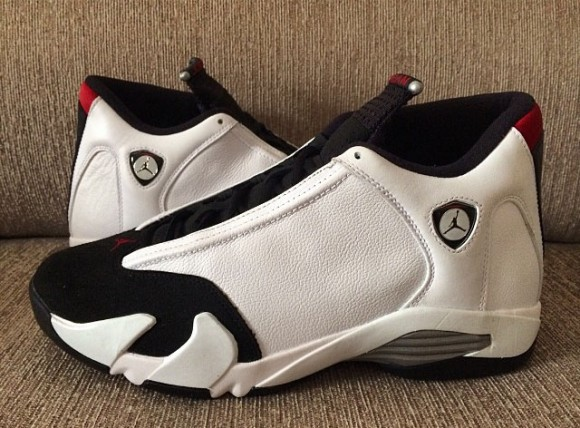 newest collection ab0d9 bd742 New Set of Images For The Air Jordan 14 Retro 'Black Toe ...