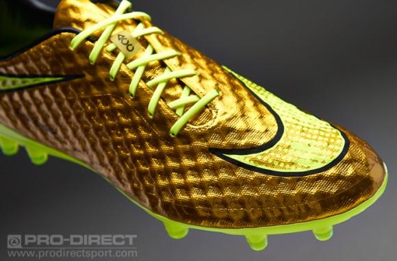 date de sortie 05405 a77cb Neymar's Gold Nike Hypervenom - Now Available - WearTesters
