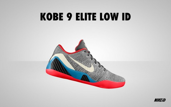 Nike Kobe 10 low Black/Crimson
