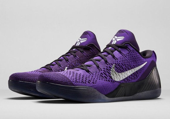 Nike Kobe 9 Elite Low 'Hyper Grape' - Official Images + Release Info 1