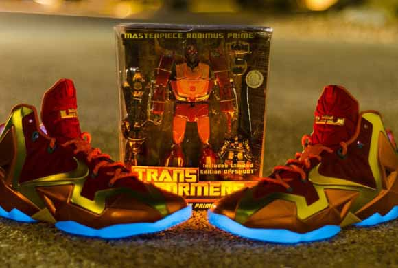 check out bd21d ee657 Nike LeBron 11 'Rodimus Prime' NIKEiD by Stuntastic210 ...