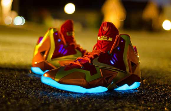 online retailer fe46d 1baba lebron eleven nike id