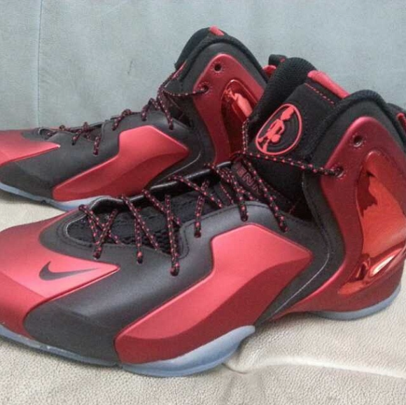Nike Lil' Penny Posite Red:Black – First Look-3