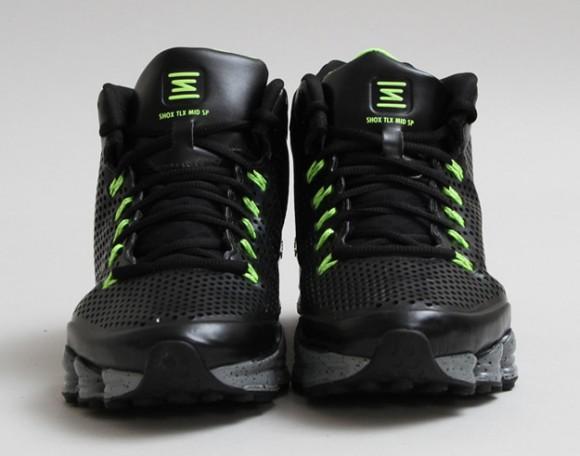 best website 19071 52df2 Nike Shox TLX Mid SP Black/Volt: Release Reminder - WearTesters