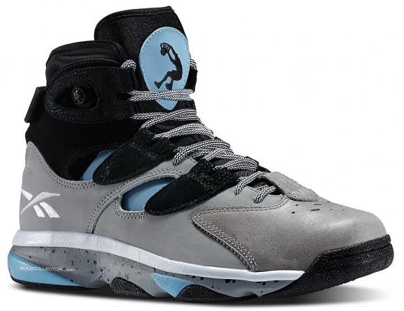 Reebok Shaq Attaq 4 Grey: Ice Blue 1
