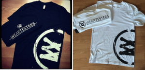 WearTesters T-Shirts – Available Now