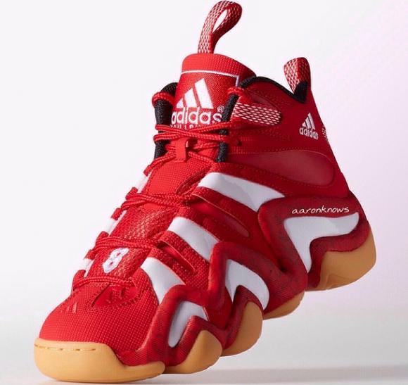 adidas Crazy 8 Red: White - Gum