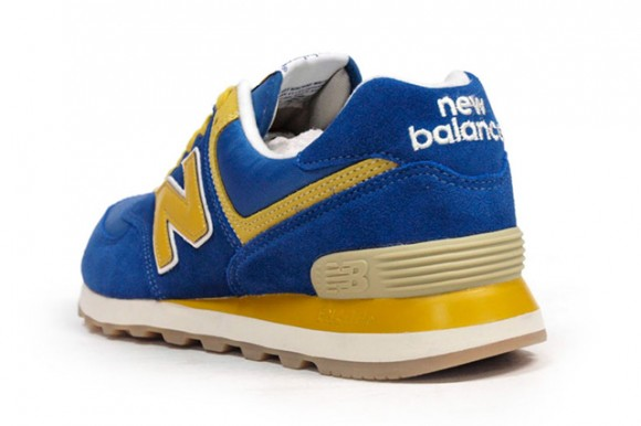 Nouvel Équilibre 574 Jaune Bleu ofP3o0L