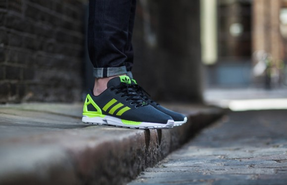 Adidas Flux Black And Yellow