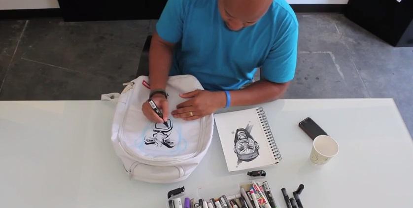 Art of MBB Ep.5  Custom Sprayground Backpack Giveaway