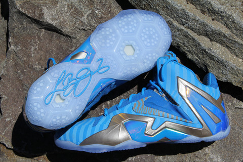 "LeBron 11 Elite ""Blue 3M"" - Sample Colorway - WearTesters"