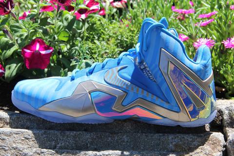 "LeBron 11 Elite ""Blue 3M"" – Sample Colorway"