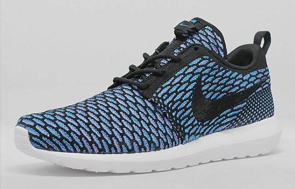 Nike Run Roshe Flyknit Triple Buyler Noir