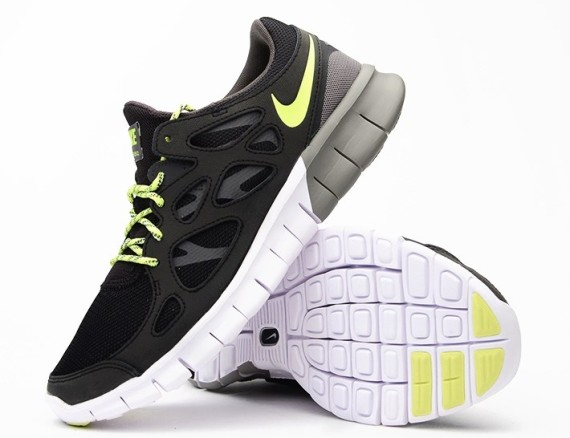 Nike Free Run 2 Black Volt