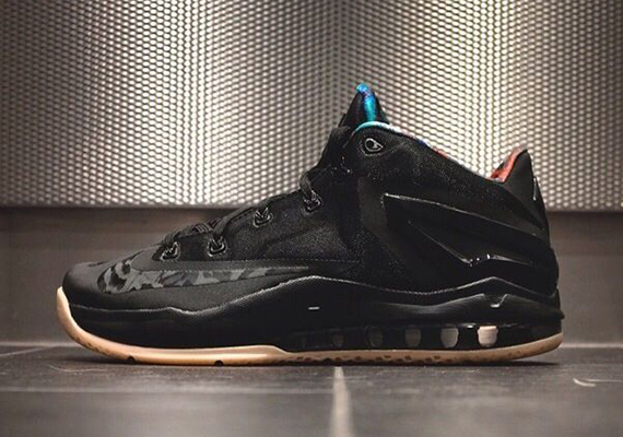 Nike LeBron 11 Low Black:Gum - Release Info 1