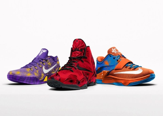 42106345612 ... norway nikeid fireworks option now available on lebron 11 and kobe 9 em  . 94fbf c2b50