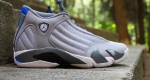 Air Jordan 14 Retro Wolf Grey/Sport Blue- New Images