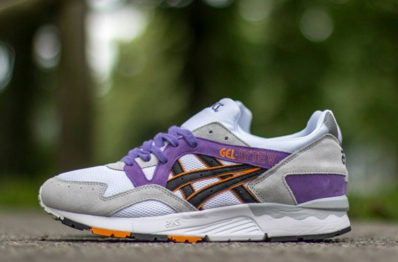 asics gel lyte v grey black purple air