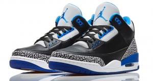 Air Jordan 3 Retro 'Sport Blue' – Release Reminder
