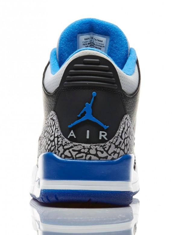 0859c400c296 Air Jordan 3 Retro  Sport Blue  - Official Look + Release Info 4 ...