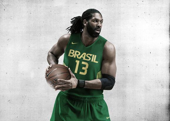 best cheap b1bfc 39202 Nike Basketball Unveils Brazil Basketball Uniforms - WearTesters