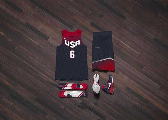 Nike Usa Basketball: Nike Basketball Unveils USA Basketball Uniform