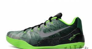 Nike Kobe 9 EM PRM Gorge Green/ Metallic Silver- Electric Green – Release Info