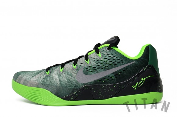 Nike Kobe 9 EM PRM Gorge Green: Metallic Silver- Electric Green - Release  Info