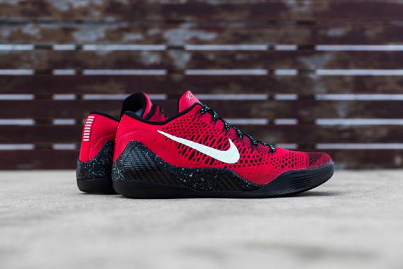 Nike Kobe 9 Elite Low University Red Black - Up Close & Personal 1