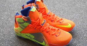 Nike LeBron 12 Orange/ Volt – Detailed Look