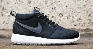Nike Roshe Run Mid Black/ Dark Grey