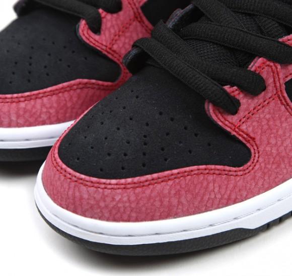 Nike Sb Dunk Mediados Negro Rojo Gimnasia Blanco Y Negro Pro yZzqapTRr6