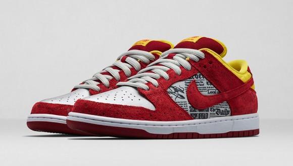 Nike x Rukus Dunk Low SB 'Crawfish