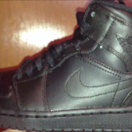 Lifestyle Deals: Air Jordan 1 Mid Black/ Black – $16 Sneaker Steal
