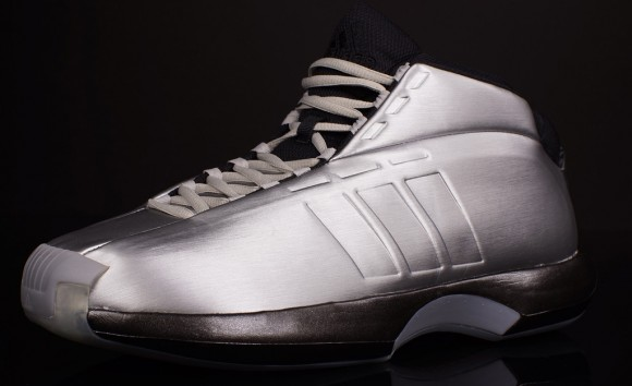 adidas Crazy 1 Metallic Silver: Black - Available Now-3