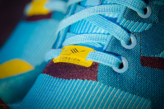 adidas Orginals ZX Flux Smooth S82887 Blue SNEAKERS Trainers
