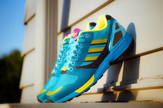 adidas Originals ZX Flux Weave 'OG Aqua' Release